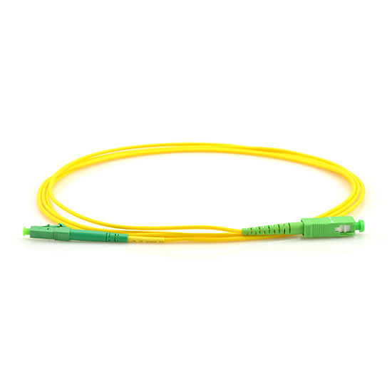 CATV Application Optical Fiber Patch Cord  5 Meter SC To LC Connector Single Mode