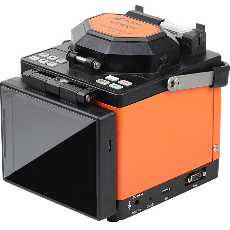 Auto , Half And Manual Fiber Optic Tools Fiber Optic Cable Single Fibre Splicing Machine